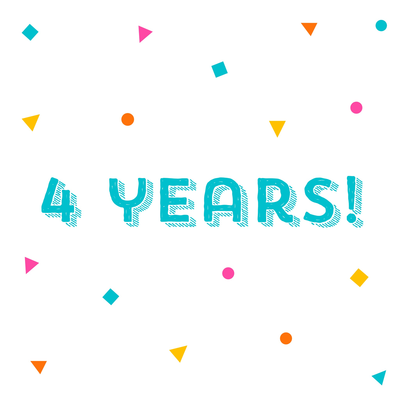 4 years of sobriety