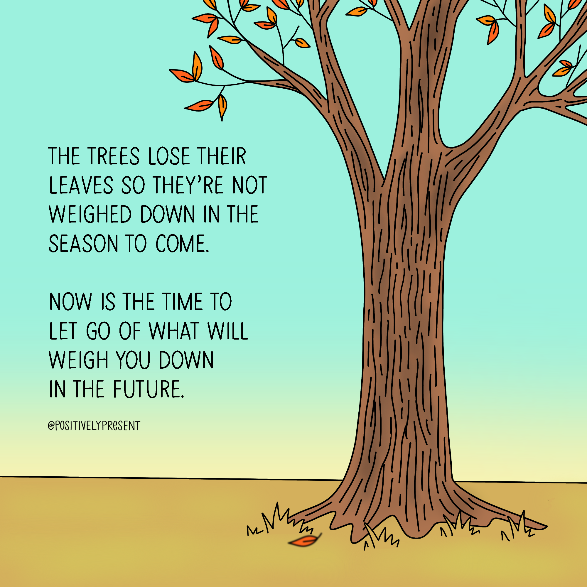 let go leaves