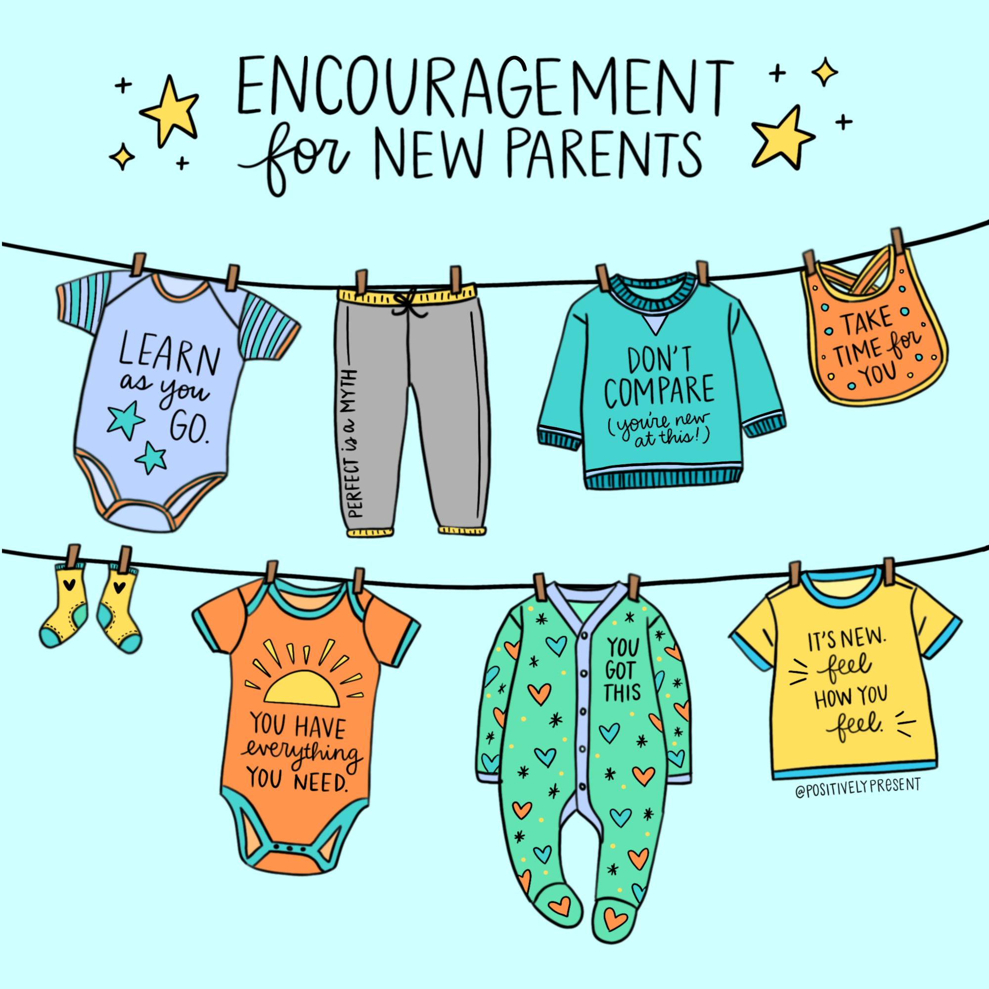 encouragement for new parents