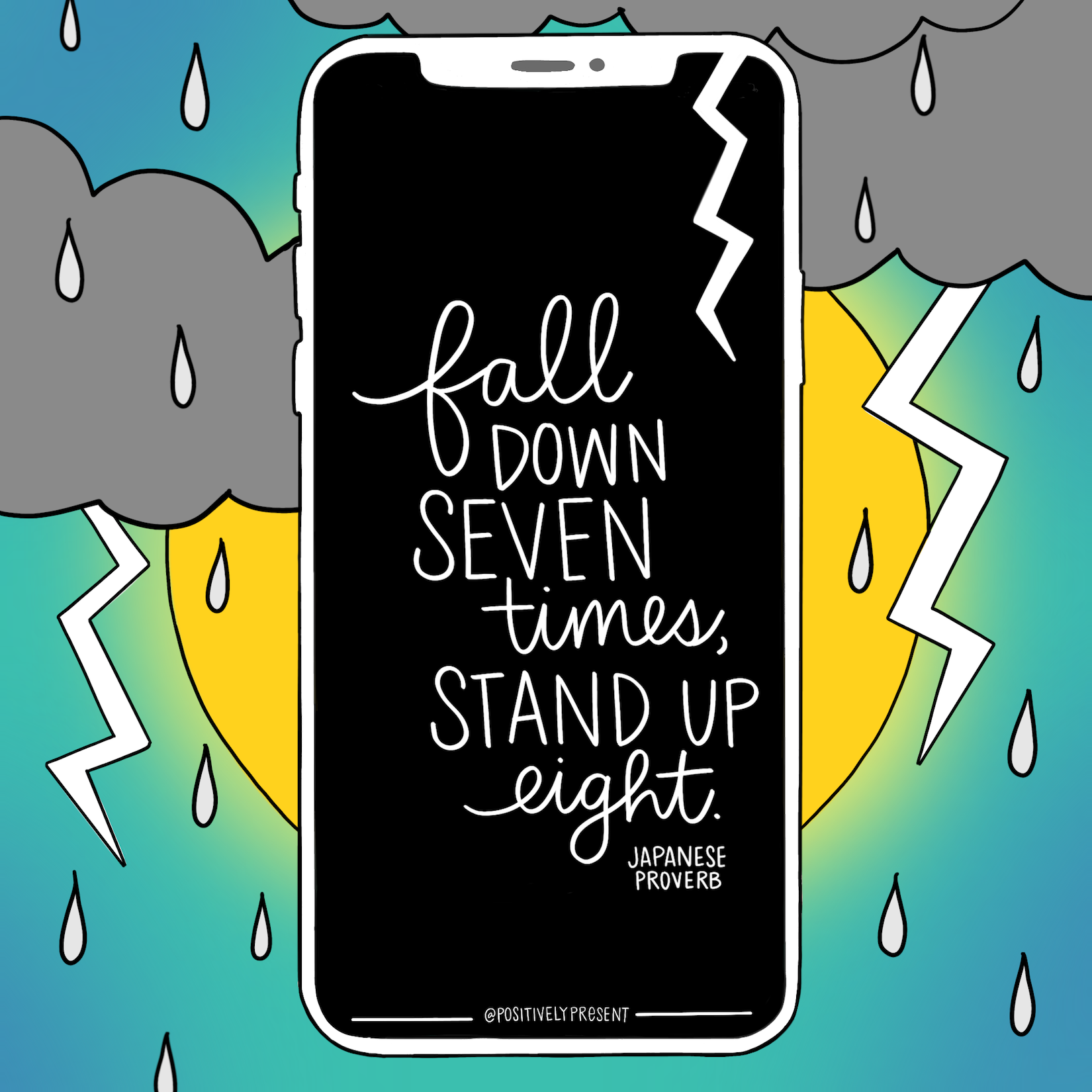 fall down seven stand up eight