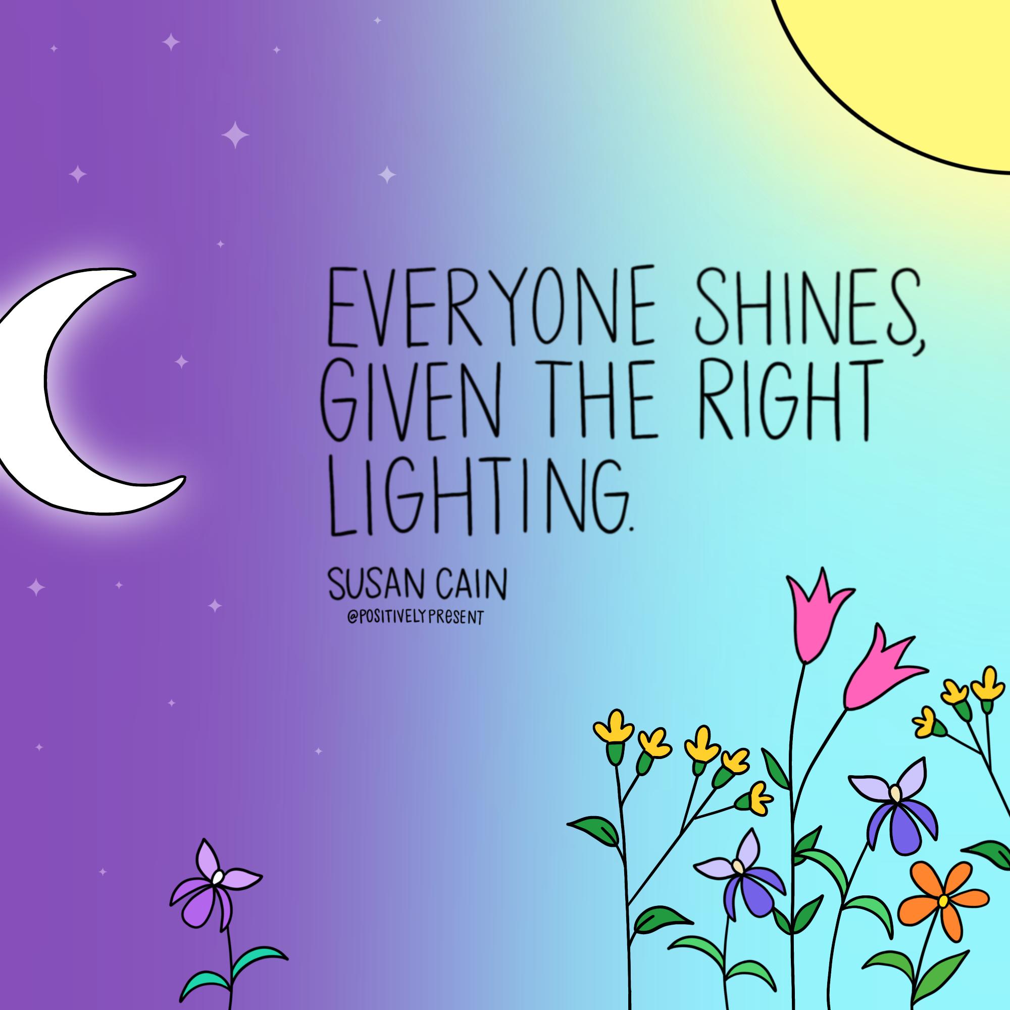introvert shining