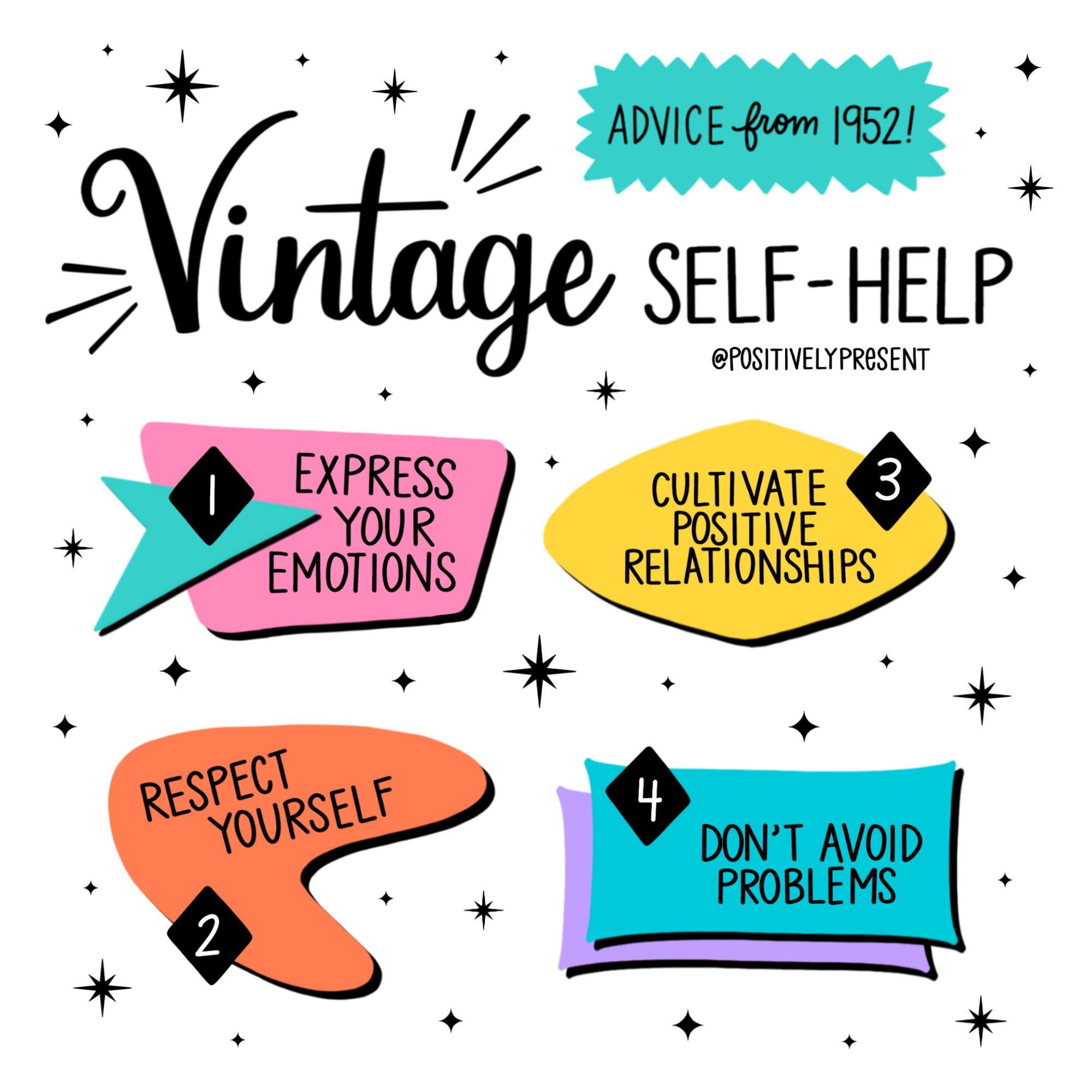 vintage self help