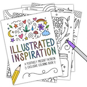 Illustrated Inspiration Coloring Book