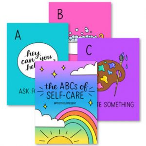 The ABC's Of Self Care - 28 Pages